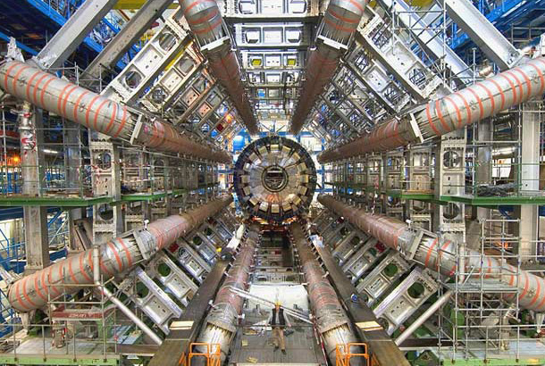 Image of CERN particle detector