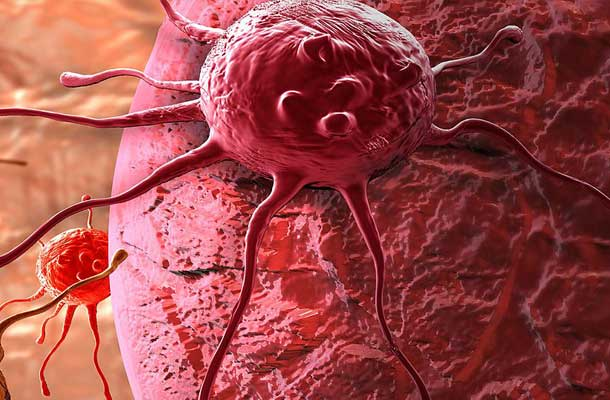 close up of cancer cell