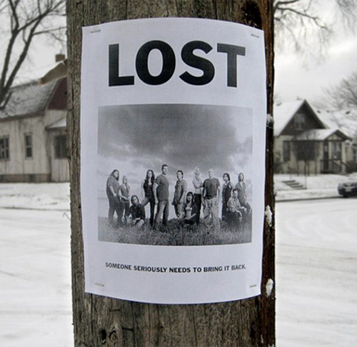 Lost: someone needs to bring it back