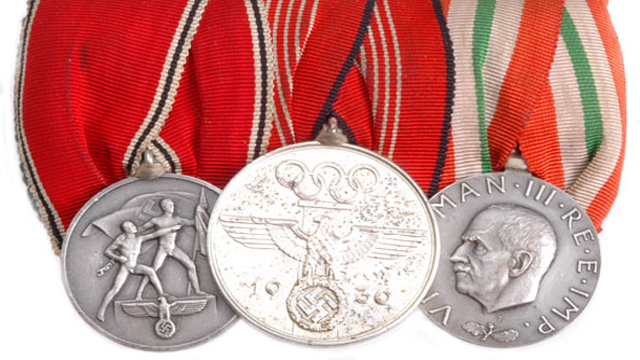 Silver Olympic Medals