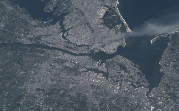 Picture of the Day: The Only American Not on Earth on Sept 11