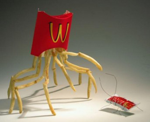 French Fry spider