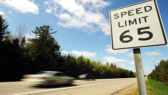 Observe the speed limit