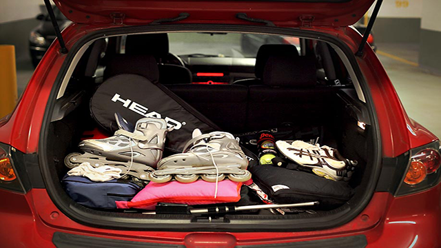 Empty the trunk