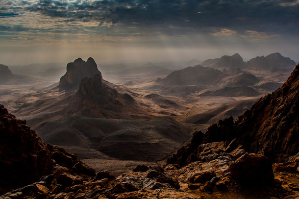 Picture of the Day: The Hoggar Mountains of Algeria
