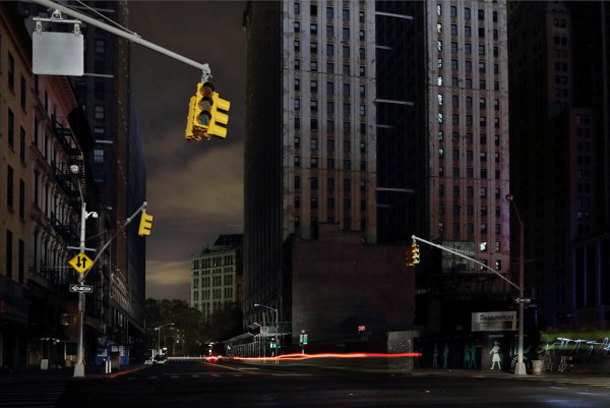 Photos of New York City with the power out