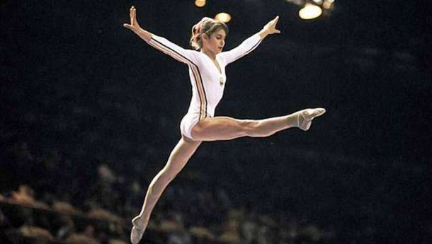 Nadia Comaneci Becomes the First Gymnast to Achieve Perfect 10 1976