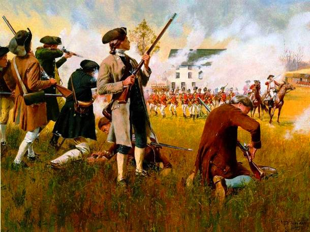 The Battles of Lexington and Concord: 1775