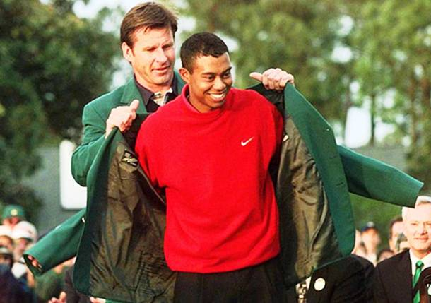 Tiger Woods: The Youngest Masters Champ in Record 1997