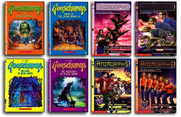"""You Have a Collection of """"Goosebumps"""" and """"Animorphs"""""""