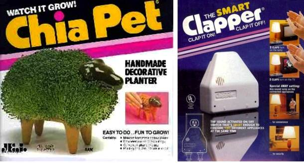 Remember Asking Your Parents for Chia Pet and Smart Clapper