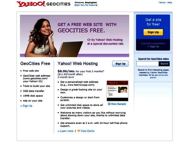 If You Know That Geocities Is Not a Map