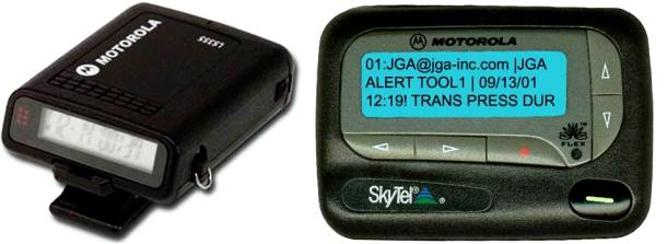 You Had a Pager or a Beeper