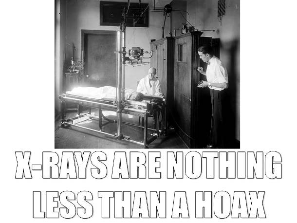X-Rays are Fake