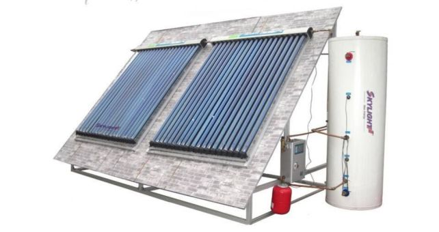 Install a solar hot water system in your shower room