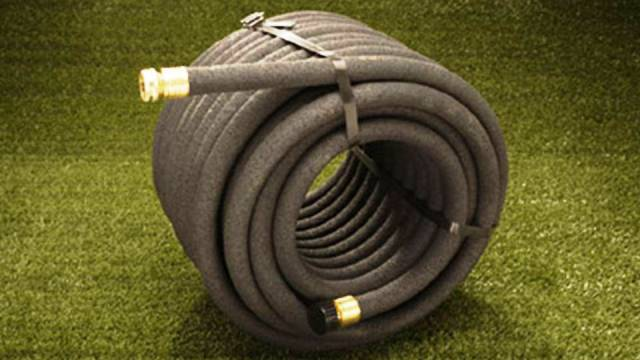 Use a soaker hose in watering your garden