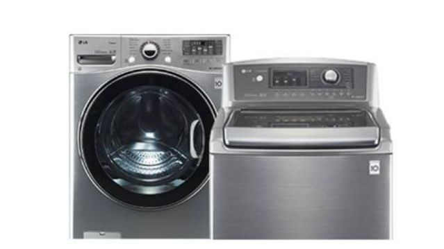 Choose front loading washing machines over top loading washing machines