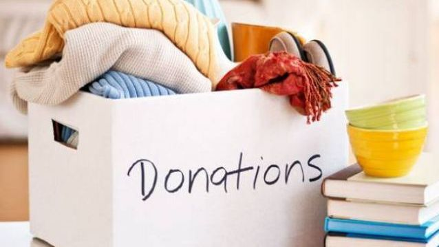 Donate your old items