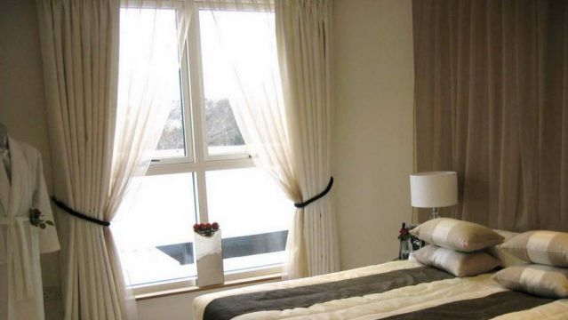 Open your blinds and curtains and use natural light during daytime