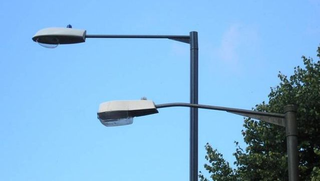 Use outdoor lights that have photocell units