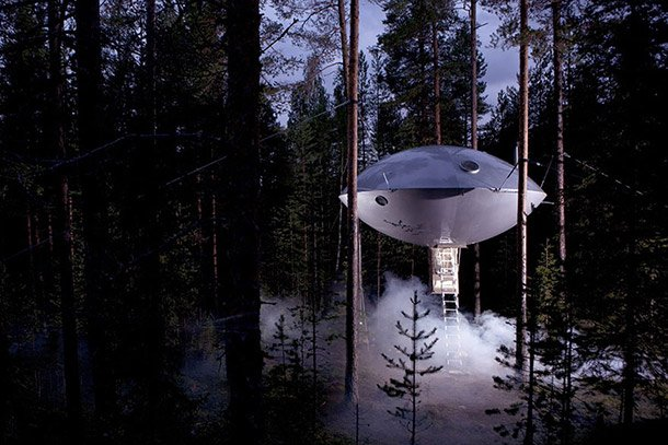 space ship hotel