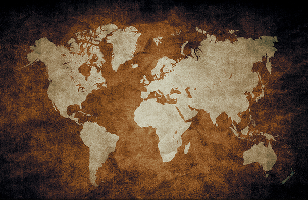 The Origin of the Names of the Continents