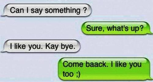 cute text message