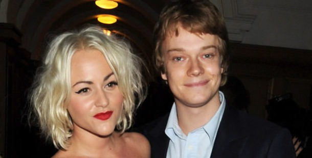 Alfie Allen is engaged to the daughter of Ray Winstone.