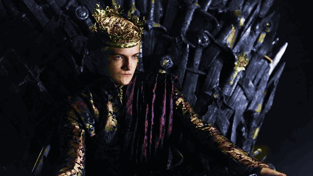 Joffrey Baratheon draws inspiration for his role from an actor in Gladiator.