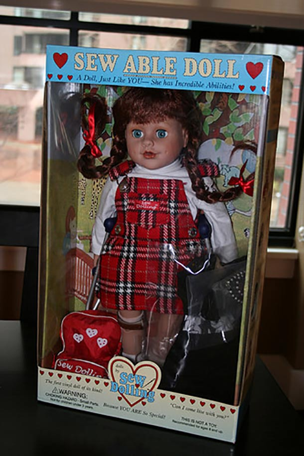 sew able doll