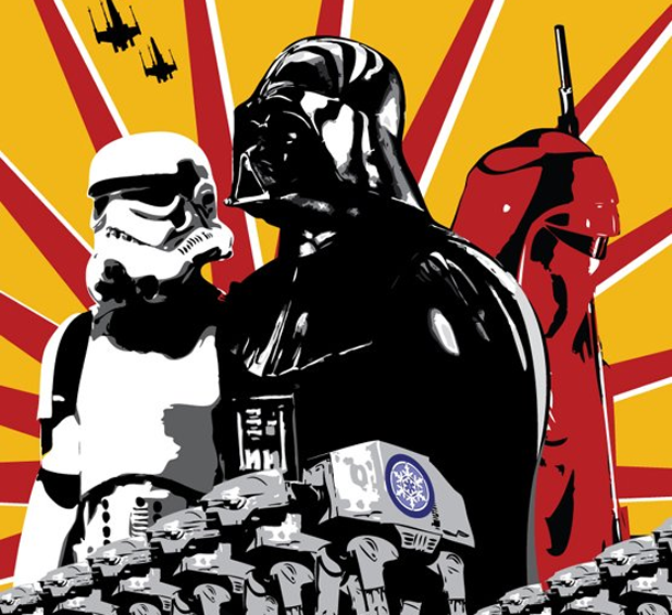 An Awesome Collection Of Star Wars Propaganda Posters