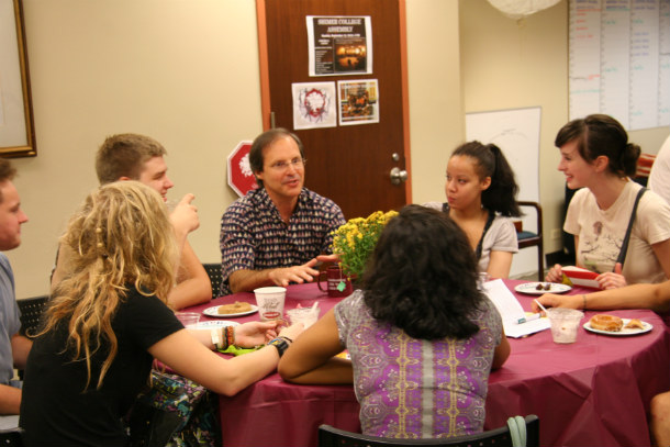 Shimer_College_conversation_with_students_2010