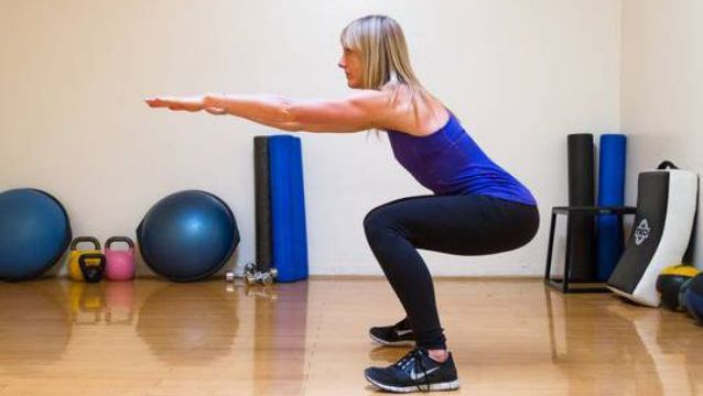 Never do squats and lunges incorrectly.