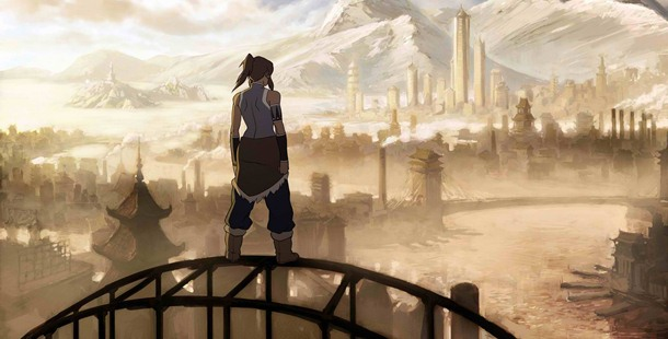 The Republic City in The Legend of Korra looks pretty much like the 1920s Shanghai or San Francisco.