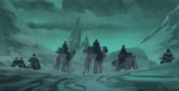 Korra did not have many friends when she was still living in South Pole.