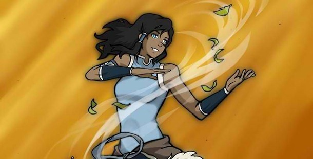Korra found it hard to do air bending again after the first time she learned it.