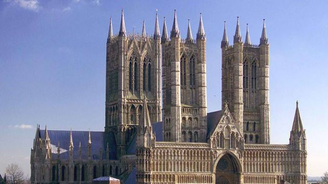 Lincoln Cathedral. Lincoln, England. 1088
