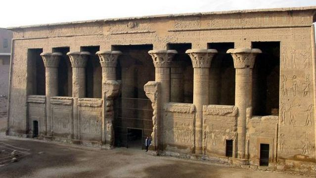 Temple of Esna. Cairo, Egypt. 40 to 250 A.D.