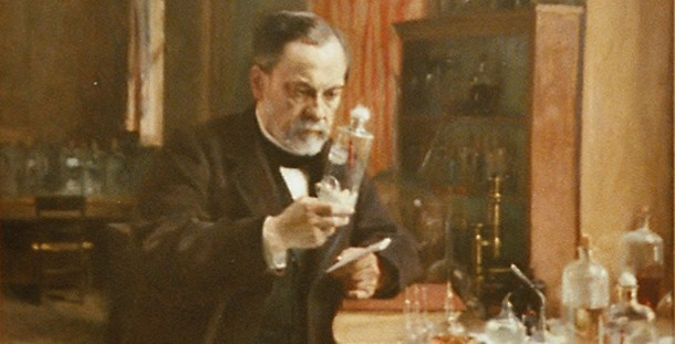 Nostradamus predicted the success of Louis Pasteur as a microbiologist and chemist.
