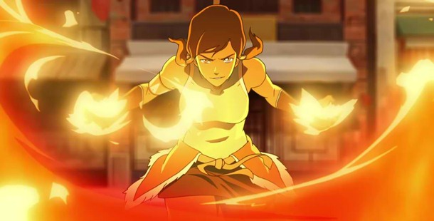 Fire bending was the first element that Korra learned.
