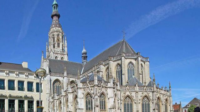 Church of Our Lady of Breda. Breda, Netherlands.1410