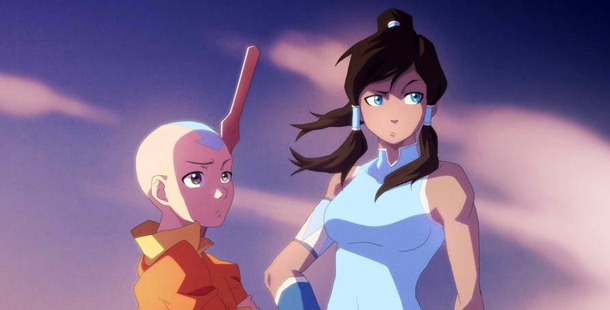 The production staff of The Legend of Korra created the character of the next Avatar after Aang but they had a hard time finding the right name for her.