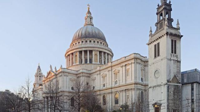 Christopher Wren. St. Paul's Cathedral. London, England. 1675-1710