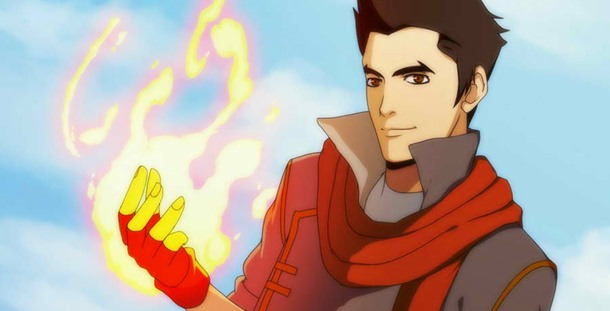 The love interest of Korra has a mysterious past.
