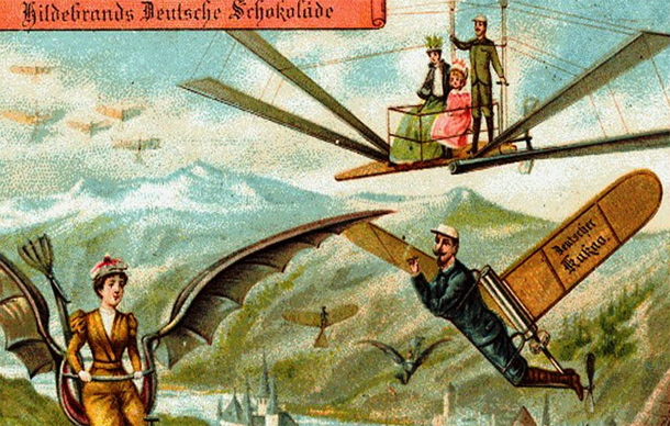 What The Future Looked Like In 1900