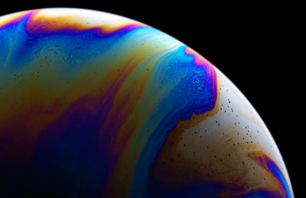 Extraterrestrial Planets Created With Soap Bubbles