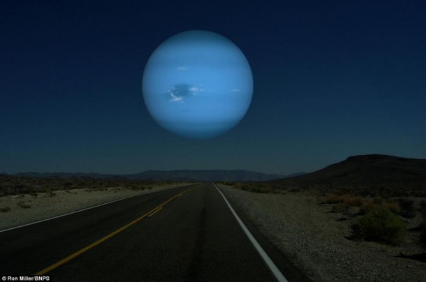 How Would Planets Look If They Replaced The Moon?