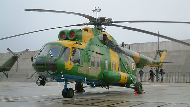 MI8 Helicopter