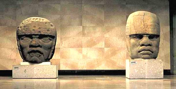 The Olmec Heads in Mexico, 1500 – 1000 BC