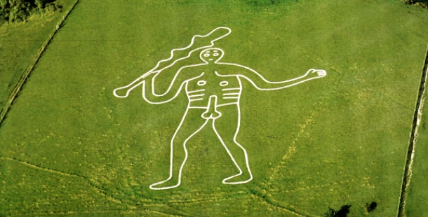 Cerne Abbas Giant in England, 4000 – 2000 BC
